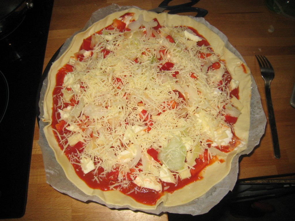 vite fait bien fait la pizza home made auroreinparis
