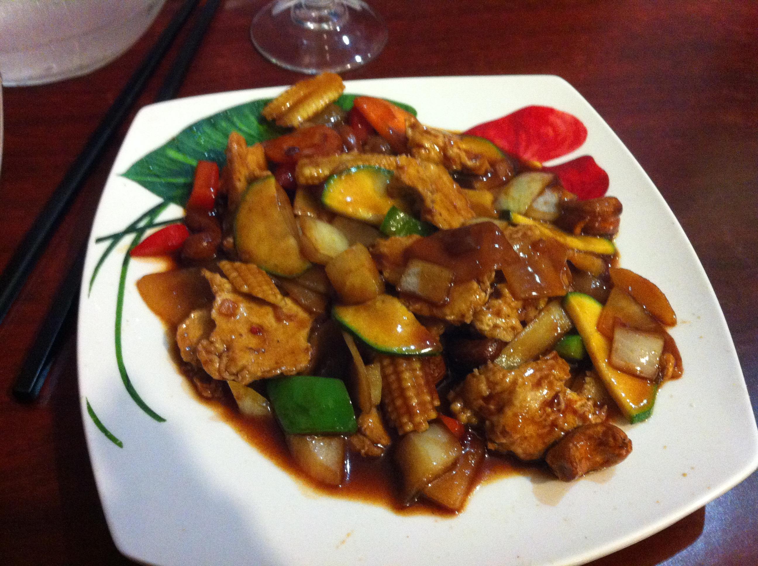 Decoration cuisine marron et beige for Cuisine asiatique