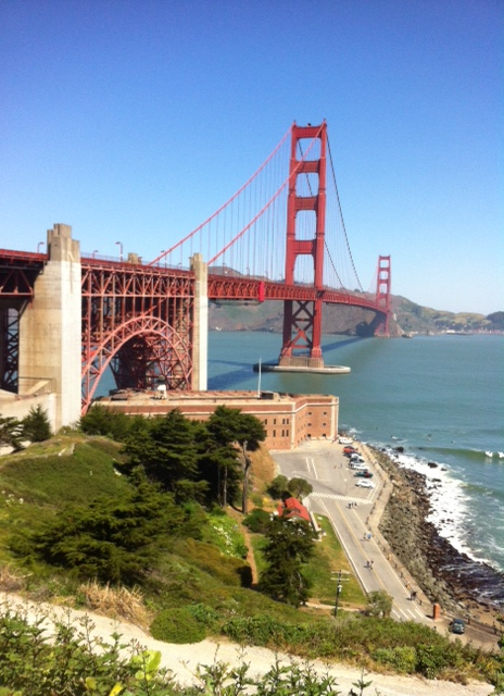 Le golden Gate Bridge