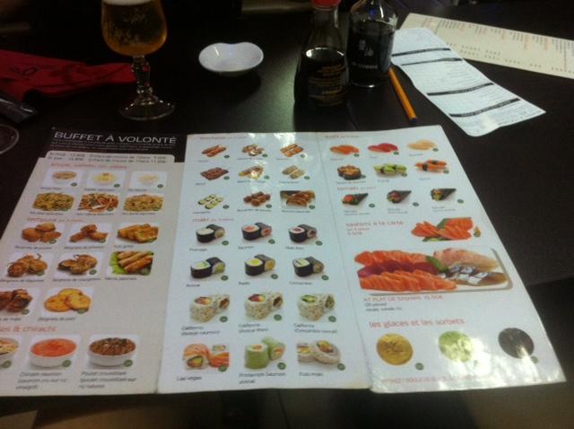 restaurant japonais volonte paris