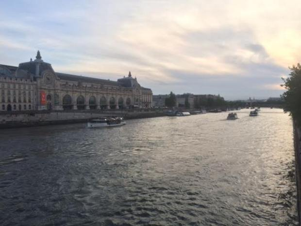 Vue sur le musée d'Orsay - côté Paris 1er