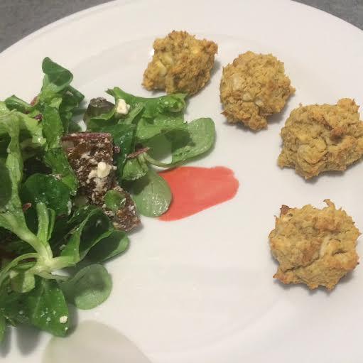 Recette végétarienne : boulettes de pois chiches à la feta ...