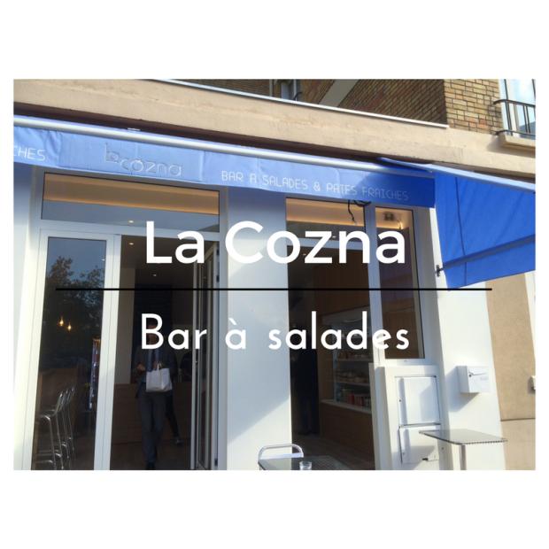 La Cozna Bar à salades Issy val de seine