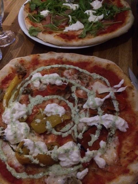 Pizza pâte fine Paris