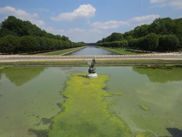 Jardins de Fontainebleau : canal