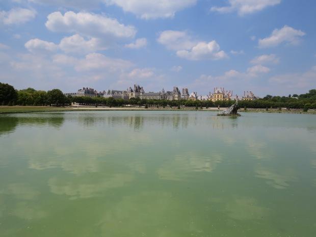 Jardin de Fontainebleau : le Grand parterre