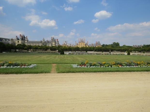 Jardin du château de Fontainebleau : Le grand Parterre