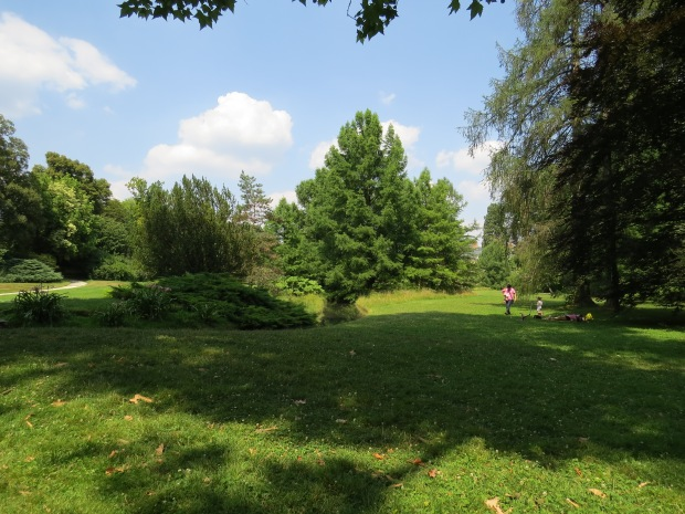 Château de fontainebleau : le jardin Anglais