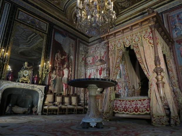 Intérieur château de Fontainebleau