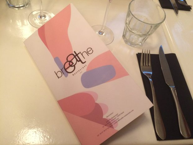 Breathe restaurant végétalien Paris