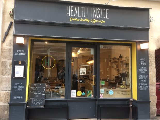 Health Inside cantine végétarienne Paris