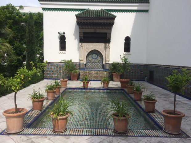 Jardin mosquée de Paris