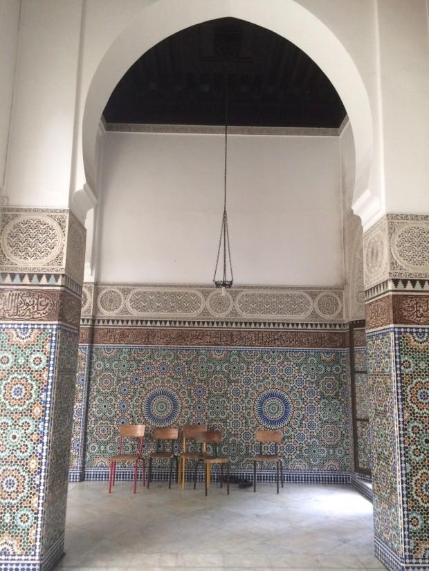Photo intérieur mosquée de Paris