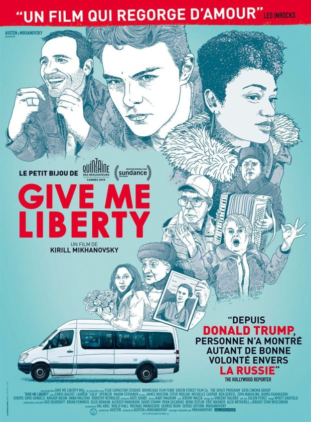 Avis sur le film Give me Liberty - affiche allociné