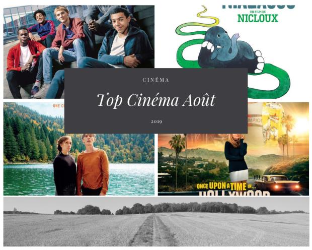 Top mensuel cinéma Août 2019