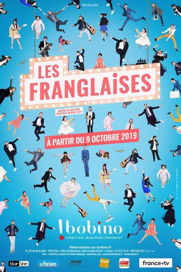 Affiche Les Franglaises Bobino