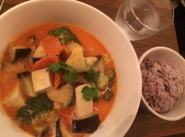 Curry Kapunka Vegan