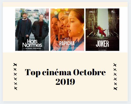 Top cinéma octobre 2019