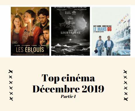 Bilan cinéma décembre 2019 partie 1
