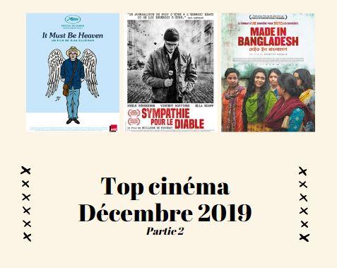 Top cinéma décembre 2019