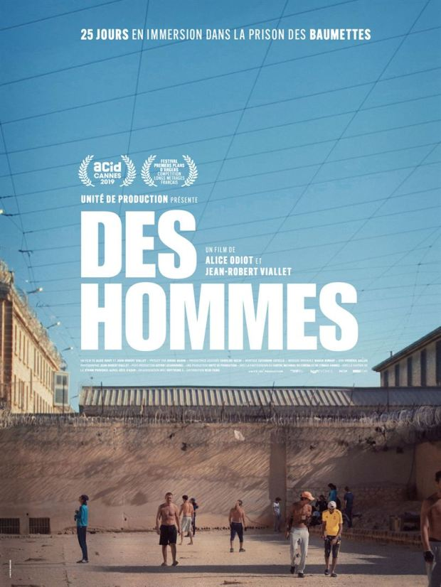 "Affiche documentaire ""Des hommes"""